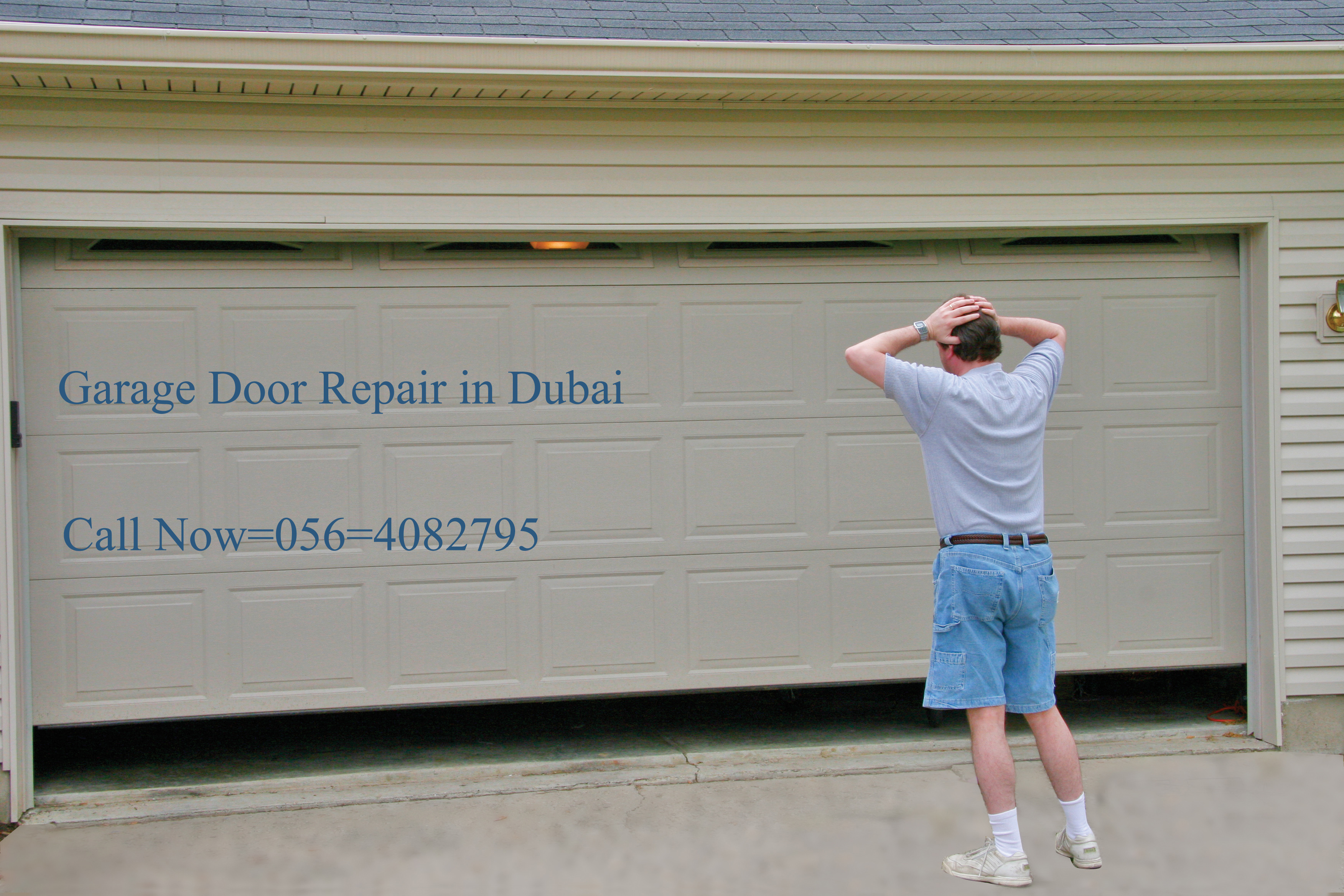 Automatic Garage Door Repair in Dubai